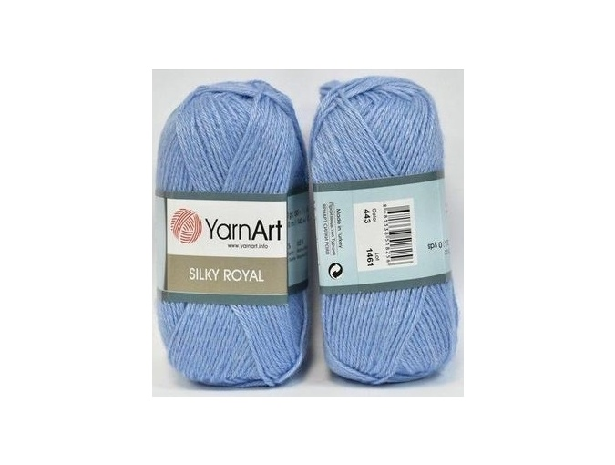 YarnArt Silky Royal 35% Silk Rayon, 65% Merino Wool, 5 Skein Value Pack, 250g фото 28