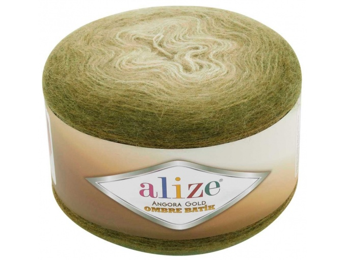 Alize Angora Gold Ombre Batik, 20% Wool, 80% Acrylic 4 Skein Value Pack, 600g фото 14