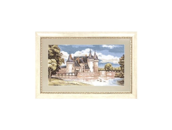 Chateaux in the Loire Valley Cross Stitch Kit фото 2
