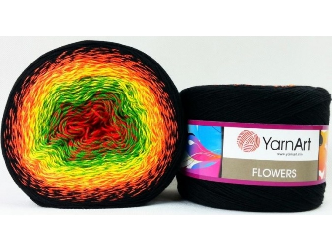YarnArt Flowers, 55% Cotton, 45% Acrylic, 2 Skein Value Pack, 500g фото 35