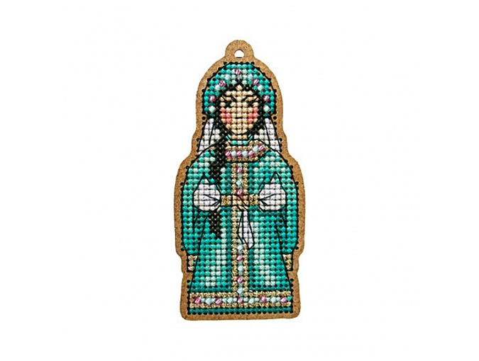 Mistress of Copper Mountain Original Toy Cross Stitch Kit фото 1