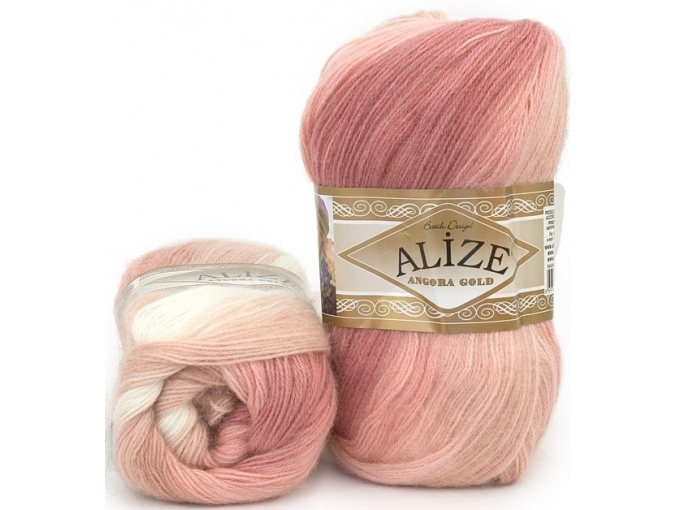 Alize Angora Gold Batik, 10% mohair, 10% wool, 80% acrylic 5 Skein Value Pack, 500g фото 45