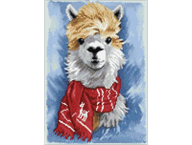 Llama Diamond Painting Kit фото 2