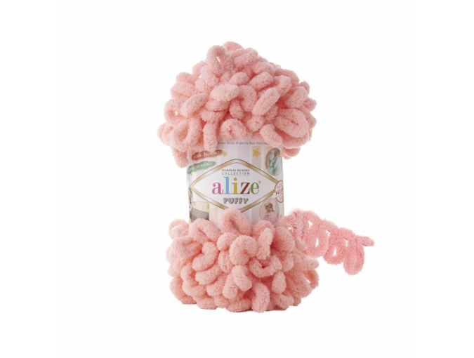 Alize Puffy, 100% Micropolyester 5 Skein Value Pack, 500g фото 47