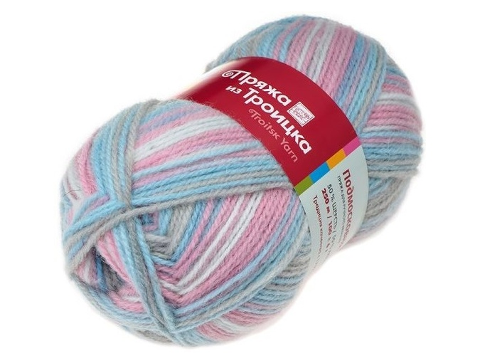 Troitsk Wool Countryside Print, 50% wool, 50% acrylic 10 Skein Value Pack, 1000g фото 62