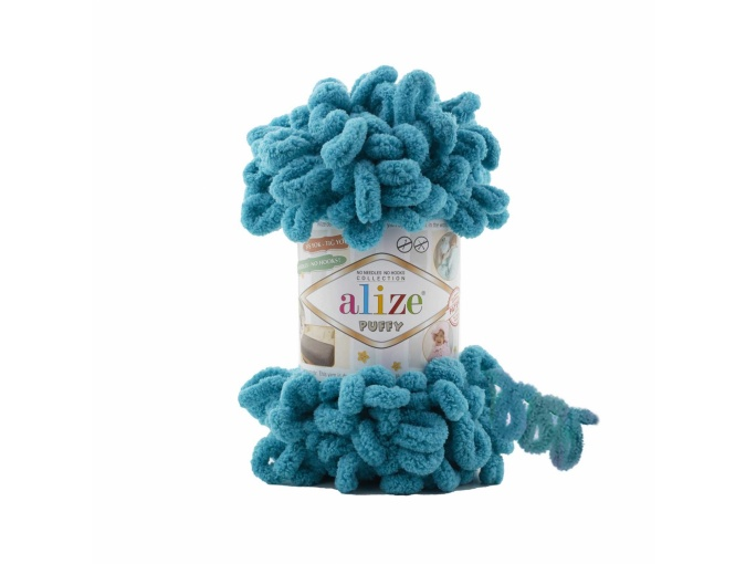 Alize Puffy, 100% Micropolyester 5 Skein Value Pack, 500g фото 17