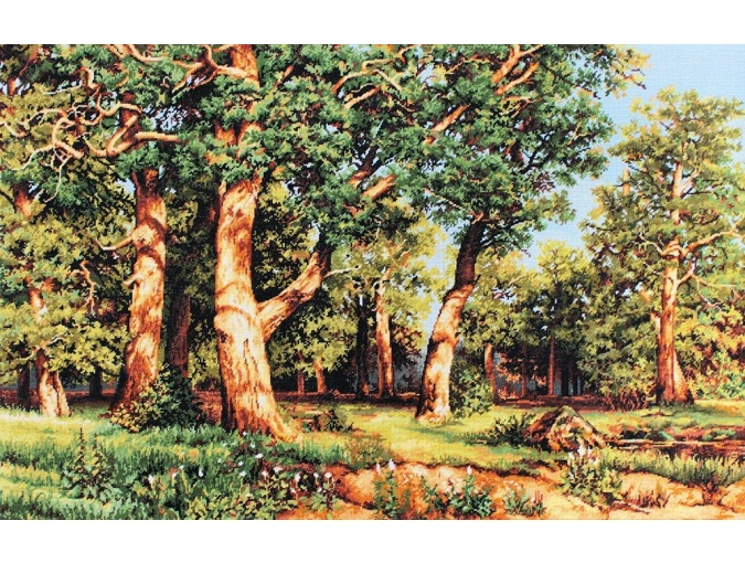 The Oak Grove Embroidery Kit фото 1