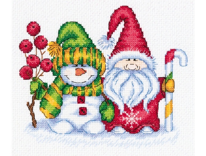 Winter Greetings Cross Stitch Kit фото 1