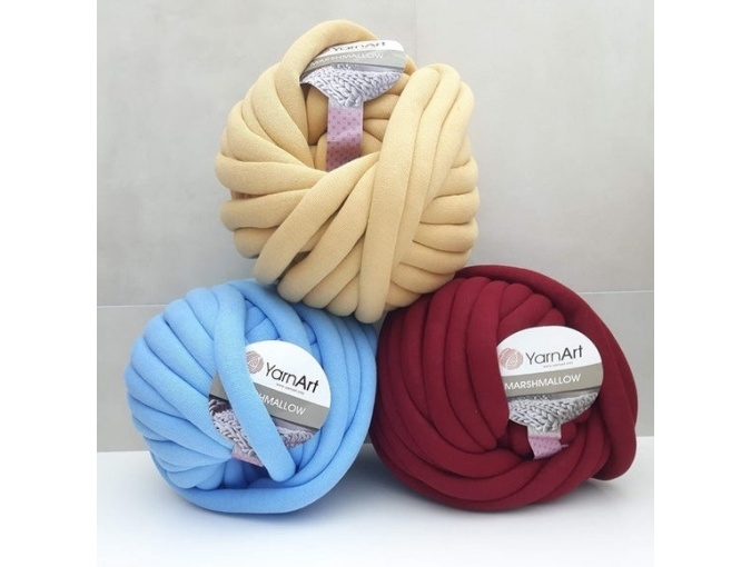 YarnArt Marshmallow 37% cotton, 63% polyamid, 1 Skein Value Pack, 750g фото 1