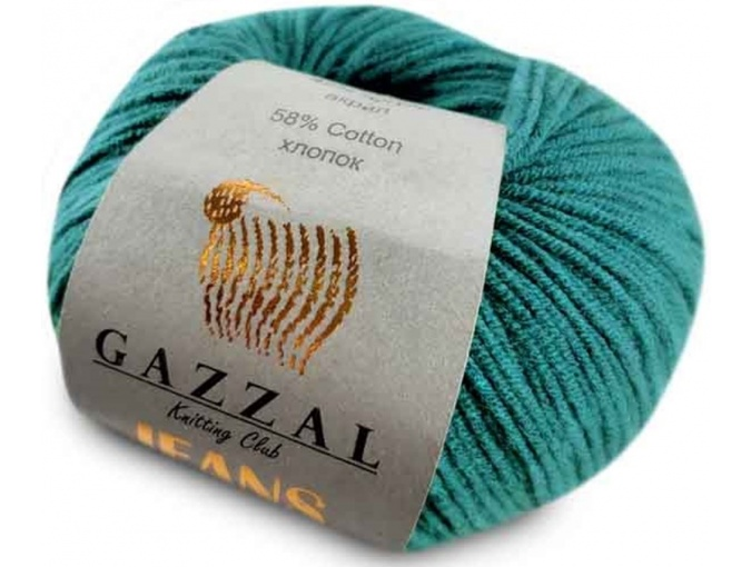 Gazzal Jeans, 58% Cotton, 42% Acrylic 10 Skein Value Pack, 500g фото 31