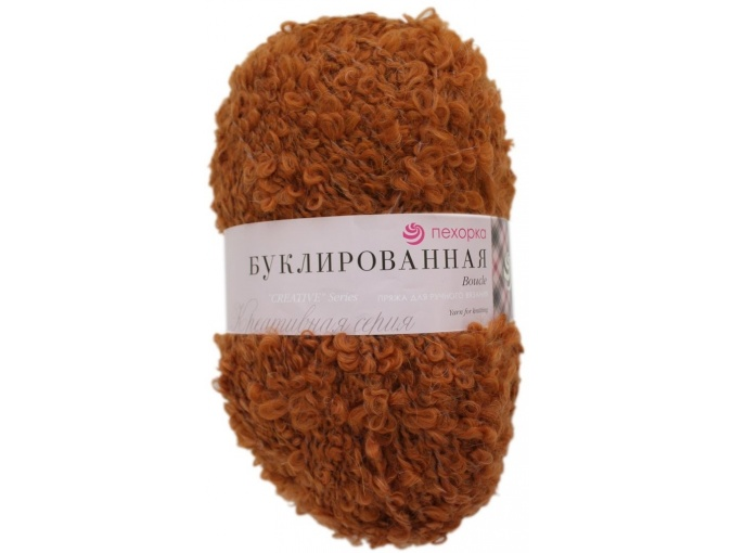 Pekhorka Boucle, 30% Mohair, 20% Wool, 50% Acrylic, 5 Skein Value Pack, 1000g фото 20