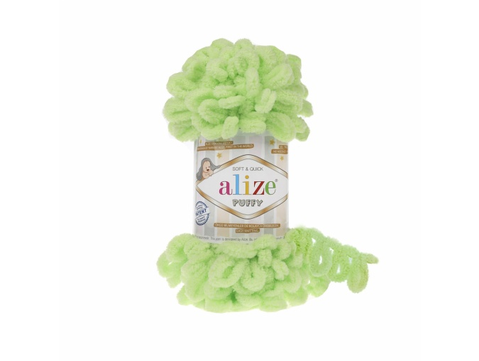 Alize Puffy, 100% Micropolyester 5 Skein Value Pack, 500g фото 10
