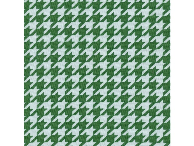 Fat Quarter Peppy, print Bright Green Houndstooth фото 1