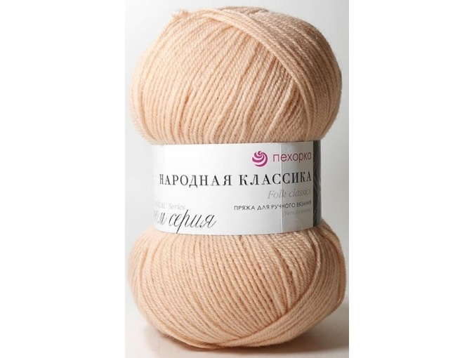 Pekhorka Folk Classics, 30% Wool, 70% Acrylic 5 Skein Value Pack, 500g фото 12