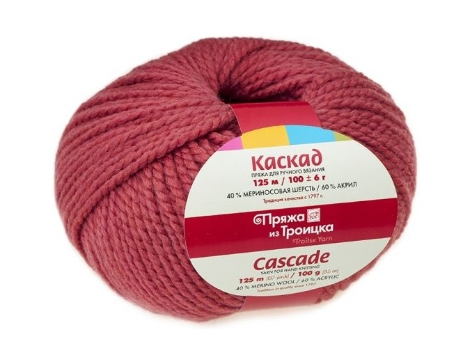 Troitsk Wool Cascade, 40% wool, 60% acrylic 10 Skein Value Pack, 1000g фото 13