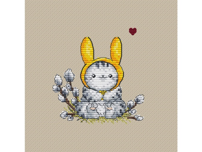 Ready for Easter! Cross Stitch Pattern фото 1