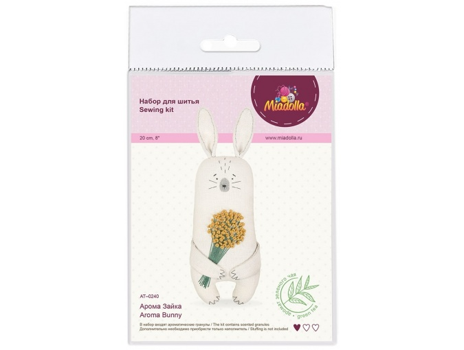 Aroma Bunny Toy Sewing Kit фото 3
