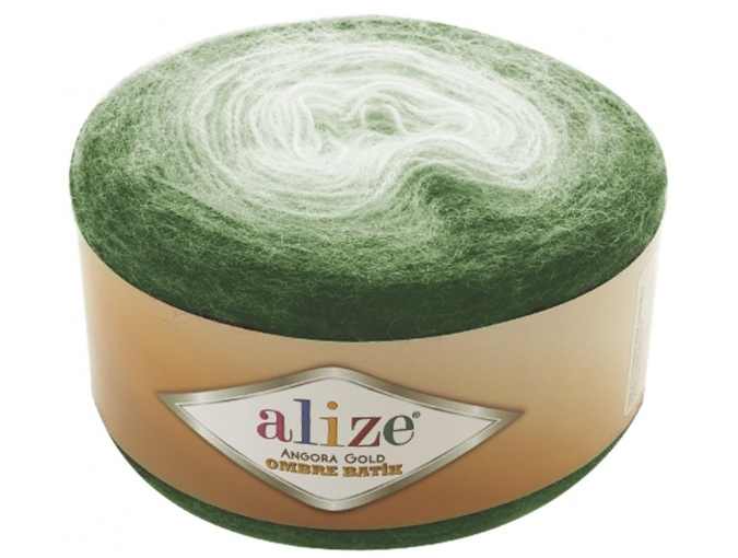 Alize Angora Gold Ombre Batik, 20% Wool, 80% Acrylic 4 Skein Value Pack, 600g фото 11