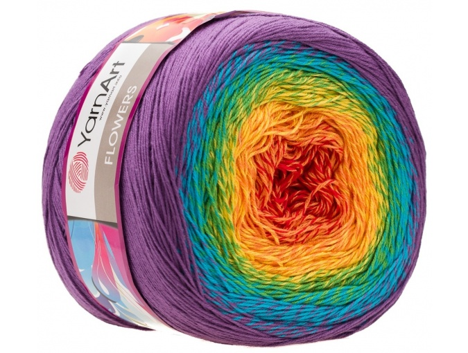 YarnArt Flowers, 55% Cotton, 45% Acrylic, 2 Skein Value Pack, 500g фото 51