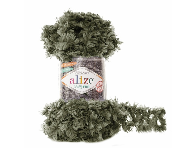 Alize Puffy Fur, 100% Polyester 5 Skein Value Pack, 500g фото 15
