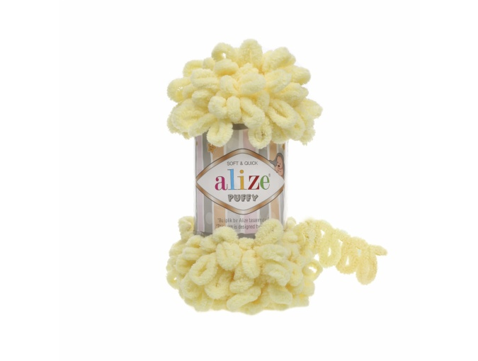 Alize Puffy, 100% Micropolyester 5 Skein Value Pack, 500g фото 3