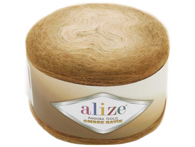 Alize Angora Gold Ombre Batik, 20% Wool, 80% Acrylic 4 Skein Value Pack, 600g фото 15