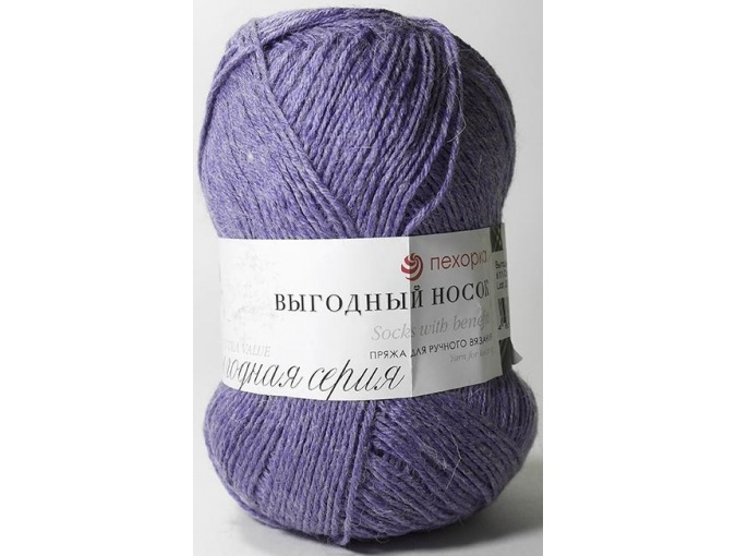 Pekhorka Socks with benefits, 40% Wool, 60% Acrylic 5 Skein Value Pack, 500g фото 25
