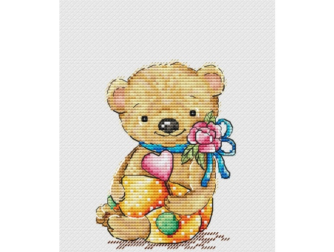 Romantic Cross Stitch Pattern фото 1