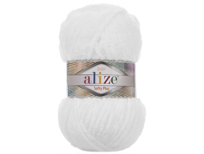 Alize Softy Plus, 100% Micropolyester 5 Skein Value Pack, 500g фото 10