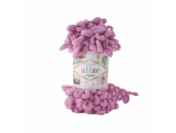 Alize Puffy, 100% Micropolyester 5 Skein Value Pack, 500g фото 19