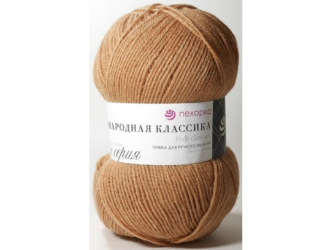 Pekhorka Folk Classics, 30% Wool, 70% Acrylic 5 Skein Value Pack, 500g фото 33