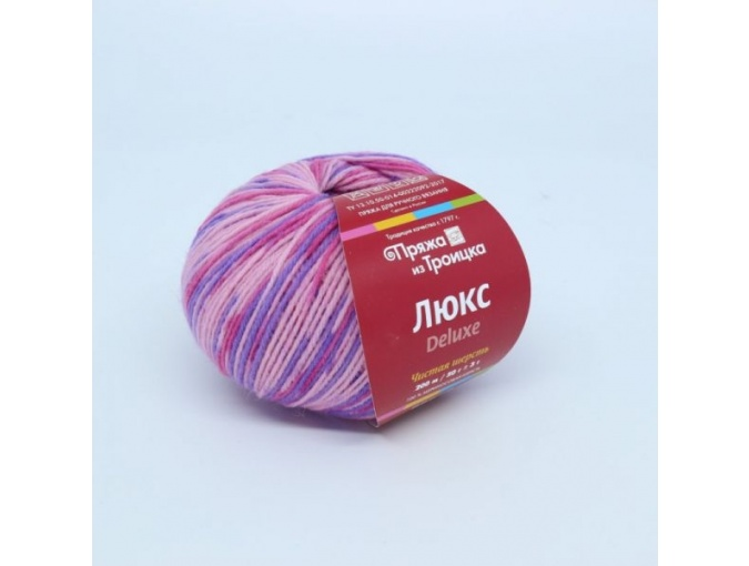 Troitsk Wool De Lux Print, 100% Merino Wool 10 Skein Value Pack, 500g фото 1