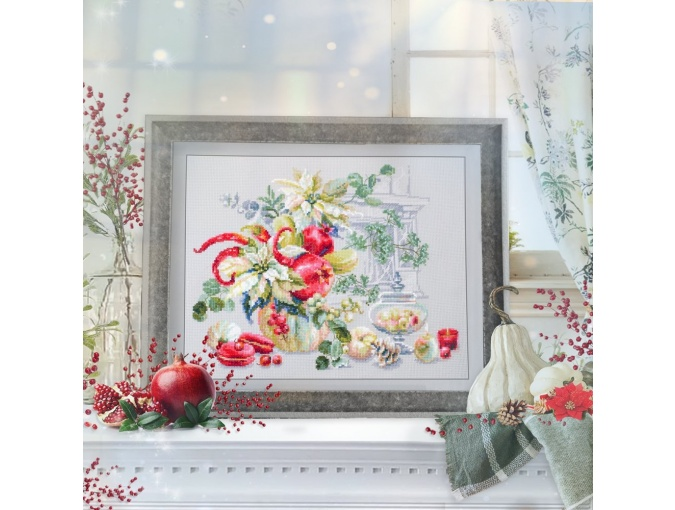 Winter Improvisation Cross Stitch Kit фото 2
