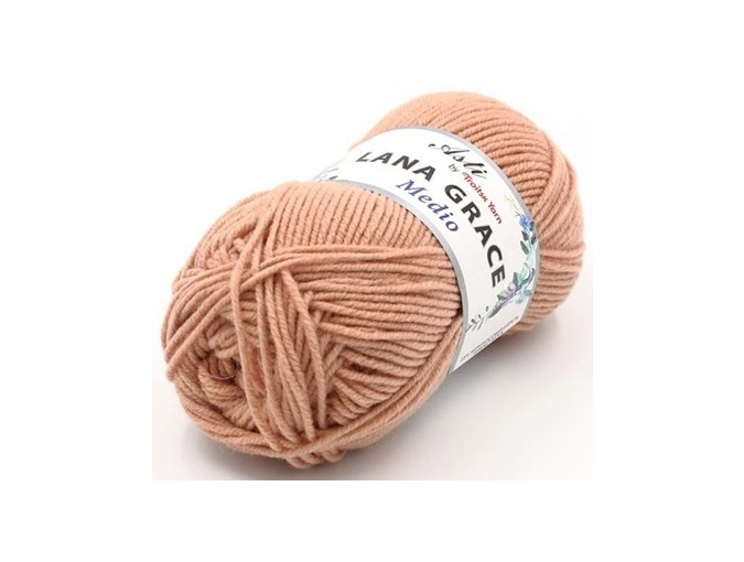 Troitsk Wool Lana Grace Medio, 25% Merino wool, 75% Super soft acrylic 5 Skein Value Pack, 500g фото 4