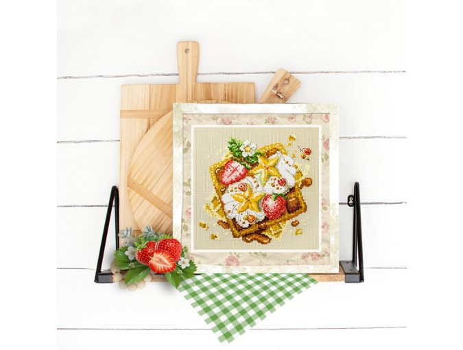 Viennese Waffles Cross Stitch Kit фото 5