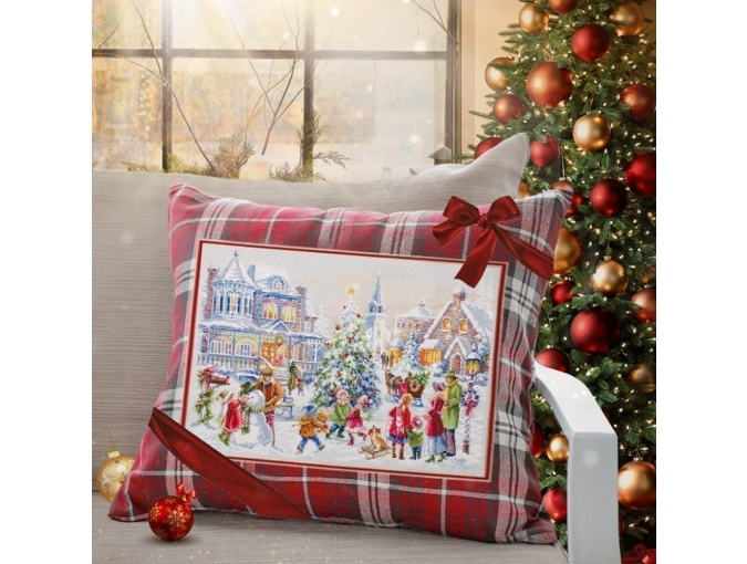 Christmas Eve Cross Stitch Kit by Magic Needle фото 3