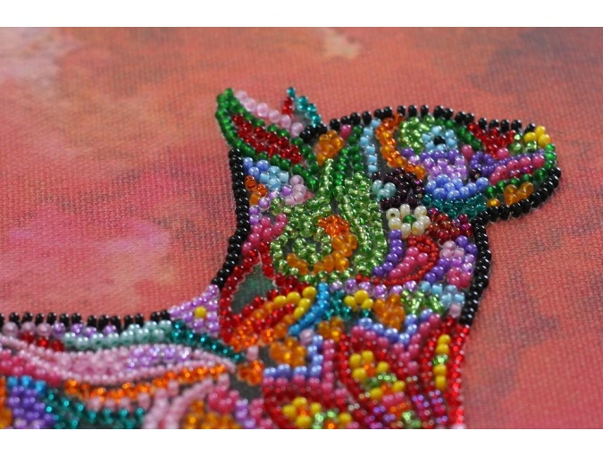 Walking in the Sunset Bead Embroidery Kit фото 7