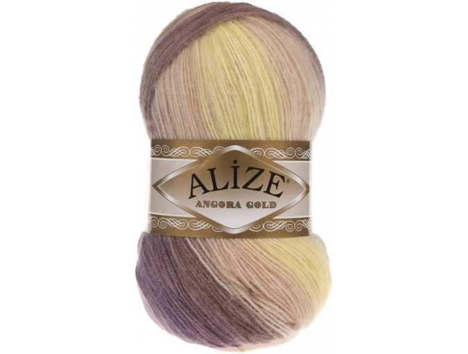 Alize Angora Gold Batik, 10% mohair, 10% wool, 80% acrylic 5 Skein Value Pack, 500g фото 62