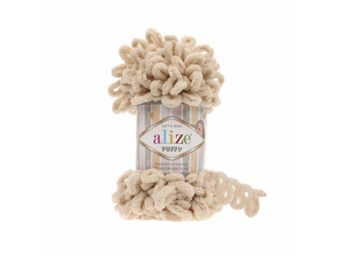 Alize Puffy, 100% Micropolyester 5 Skein Value Pack, 500g фото 34