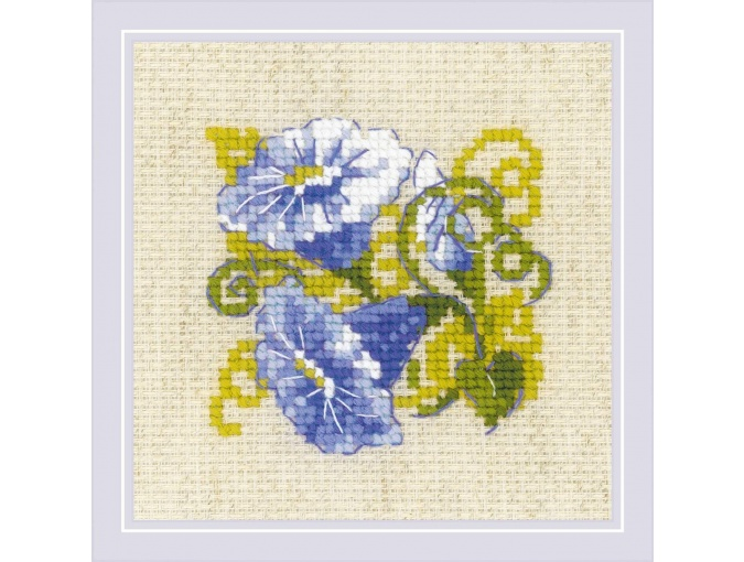 Purple Bindweed Cross Stitch Kit фото 1