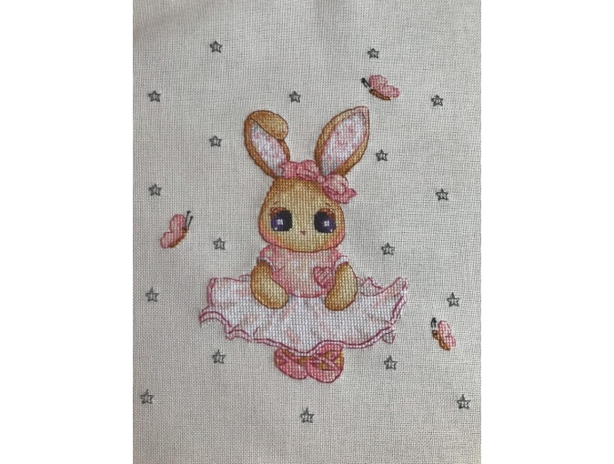 Sweet Bunny Cross Stitch Pattern фото 2
