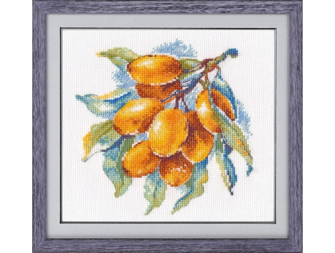 Amber Berry Cross Stitch Kit фото 1