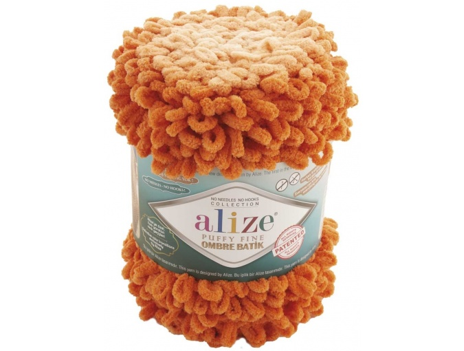 Alize Puffy Fine Ombre Batik, 100% Micropolyester 1 Skein Value Pack, 500g фото 13