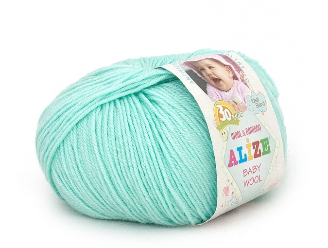 Alize Baby Wool, 40% wool, 20% bamboo, 40% acrylic 10 Skein Value Pack, 500g фото 3