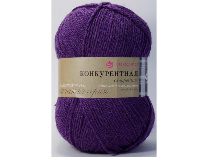Pekhorka Competitive, 50% Wool, 50% Acrylic 10 Skein Value Pack, 1000g фото 21