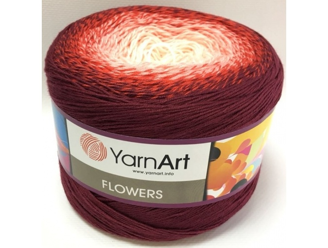 YarnArt Flowers, 55% Cotton, 45% Acrylic, 2 Skein Value Pack, 500g фото 39