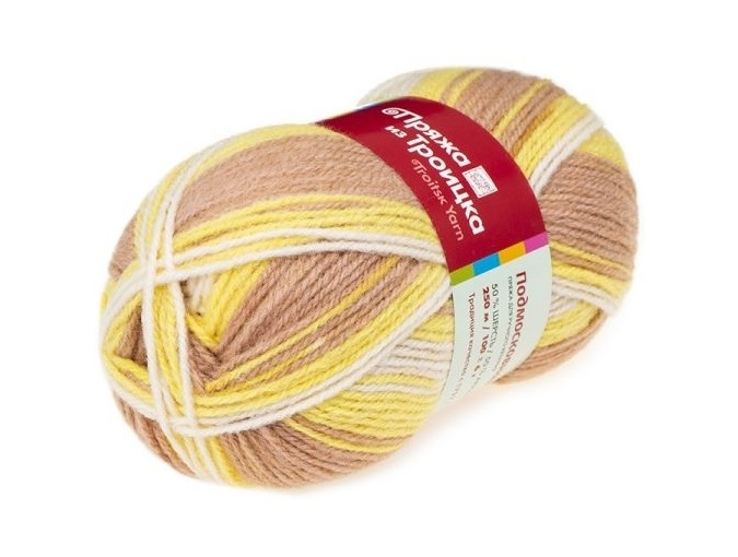Troitsk Wool Countryside Print, 50% wool, 50% acrylic 10 Skein Value Pack, 1000g фото 49