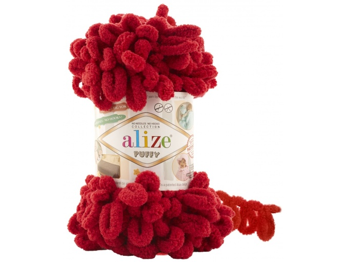 Alize Puffy, 100% Micropolyester 5 Skein Value Pack, 500g фото 20
