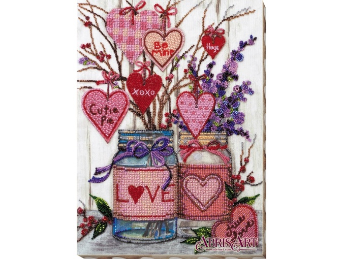 About Love Bead Embroidery Kit фото 1