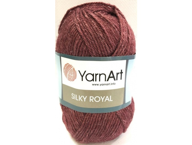 YarnArt Silky Royal 35% Silk Rayon, 65% Merino Wool, 5 Skein Value Pack, 250g фото 30